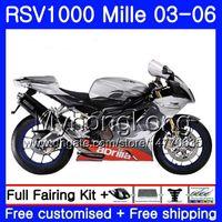 RSV 1000R 1000 RV60 Mille 2003 2004 2005 2006 için Vücut Üst Simli Red316HM.40 RSV1000RR RSV1000R RSV1000 R RR 03 04 05 06 PERSALLAR
