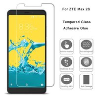 Transparent Tempered Glass For ZTE Max 2S Blade View Maven 3...