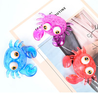 Creative Cartoon Animal Crab Toy TPR Soft Rubber Squeeze Ven...
