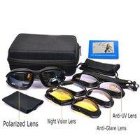 Desert Storm War Game Tactical YQ161 CX200706 Daisy C5 Exército Polarizada Óculos Óculos de Sol Militares Sun Glasses Para Femininos