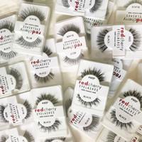 ROUGE CERISE Cils Faux 3D Cils Naturels Longs Faux Cils Extension Maquillage Cils Beauté Outils GGA2056