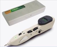 New Estimulador CE LCD eletrônico automaticamente Acupuntura Agulha Pen eletroacupuntura T.E.N.S. Dispositivo e Ponto Detector