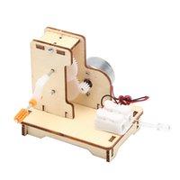 Hand-Shake-Generator-Technologie kleine Produktions Schüler wissenschaftliches Experiment DIY Erfindung Material physikalisches Spielzeug Großhandel