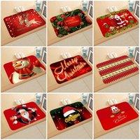Cartoom سلسلة عيد الميلاد تصاميم اللوازم ممسحة مستطيل الشكل عيد الميلاد الديكور البساط المنزلية الحصير لحزب 6qj E1