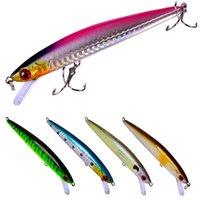 5pcs / Lot 11.2cm / 9.1g Bionic рыболовной приманка Set Kit Bass Pike Форель Hard Bait Искусственных Воблеры Пресноводных Saltwater Поппер Приманка
