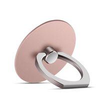 2018 universale 360 rotazione anello di telefono fibbie presa presa, cellulare dito anello in metallo titolare per il basamento del telefono mobile
