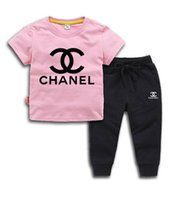 Brand Kids Sets 2- 9T Children T- shirts And Shorts Pants Kids...