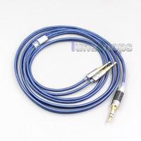 Oppo PM-13:00-2 Düzlemsel Manyetik LN006446 için Mavi% 99 Saf Gümüş XLR 3.5mm 2.5mm 4.4mm Kulaklık Kablo