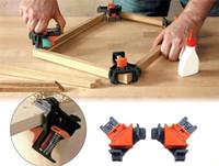 핫 공예 90 개도 직각 클램프 고정 클립 액자 코너 클램프 목공 손 도구 가구 수복 사진 강화