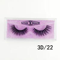 cílios de seda 1pair 3D 16styles Maquiagem Feito à Mão Natural longo Faux Mink Lashes Vegan crueldade livre cílios falsos Maquiagem
