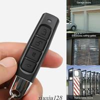 Elektrisches Garagentor Cloning Wireless-Taste auf der Fernbedienung 433MHz Toröffner
