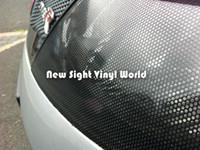 Película de malla de envoltura de vinilo perforada Spi Vision Tinte de faro Tinte Fly Eye 1.07x50M / Rollo