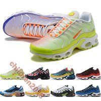 Üst Renk Çevirme Paketi Üzüm Koşu Ayakkabıları Yastık Artı Nic Beyaz Takım Kırmızı Deluxe Siyah Beyaz Sarı Marka Açık Sneakers Boyutu 36-46
