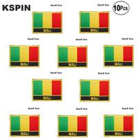 Mali Bandiera ricamo patch di ferro su Sega sul trasferimento patch Le domande di cucito per i vestiti in homegarden