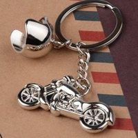 오토바이 열쇠 고리 패션 헬멧 키 체인 금속 열쇠 고리 크리 에이 티브 키 링 성격 키 체인 참신 열쇠 고리 도매 DBC VT0397