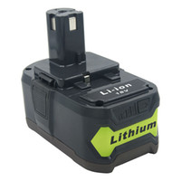 18V 6000mAh Li-ion Power Tools Replacement Rechargeable Battery for Ryobi ONE P108 P109 P106 P105 P104 P103 RB18L50 RB18L40