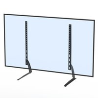 Leadzm 40-65 inch Eenvoudige Desktop Verticale Beugel TV Mount TSDZ808 TV-standaard met installatieaccessoires Snelle verzending in de VS