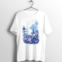 Maglietta unisex di Zelda Hyrule Field Artwork Art Art Personalizzato Stampato Bianco Bianco Casual Tee Abbigliamento manica corta per T-shirt da uomo estivo