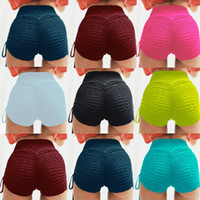 Womens Summer High Waist Scrunch Bottom PUSH UP Shorts Pantalones cortos Shorts de yoga