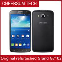 Original para Samsung Galaxy Gran 2 G7102 teléfono celular de la cámara de 8MP GPS WIFI Dual SIM Quad-core móvil Reformado envío libre del teléfono