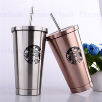 Starbucks Cups Styles Stainless Steel Mug Flexible Cups Coff...