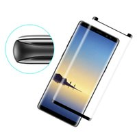9H 3D Full Curved Screen Protector For Samsung Galaxy S9 S8 ...