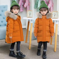 Girls Winter Coat Casual Outerwear Warm Thick Hooded Baby Do...