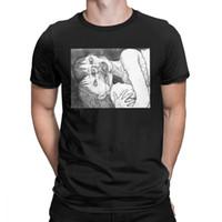 Junji Ito Anime Assustador Manga Estranho Japão Horror Engraçado T Shirt Man Mangas Curtas Roupas Nova Chegada Tees Algodão O Pescoço T-shirt