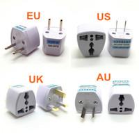유로 유럽 여행 벽 AC 전원 충전기 콘센트 어댑터 컨버터 소켓 EU 플러그 USA 보편적 미국 영국 AU
