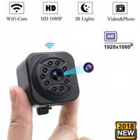 كاميرا HD البسيطة واي فاي IP كاميرا 1080P رؤية الليلية IR مايكرو DV DVR الدعم كشف الحركة الرئيسية المراقبة الأمنية كاميرا الفيديو 814