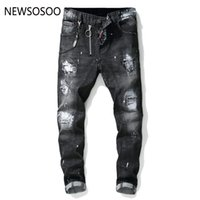 European American Style famous brand mens jeans luxury Men s...