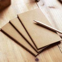 كرافت ورقة دفتر اليد نسخة الغلاف دفاتر فارغة غرزة المفكرة كرافت تغطية الدفاتر اليومية ورقة مجلة القرطاسية LX1800