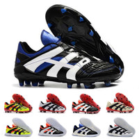 Original 98 Predator Boots Boots Dream Accelerator Champagne FG IC Soccer Shoes Shoes Cleats Sports Sneakers Designer Mens Trainers 3945