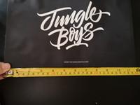 Grandes Jungle Boys Smell Bolsas prueba se levanta la bolsa de media libra paquete Ziplock Sólo Embalaje Mylar cremallera Pack para Flores de la hierba seca de DHL