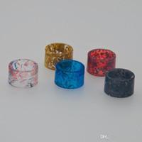 Nizza colorato resina epossidica punta a goccia supporto della bocca bocchino foro largo vaporizzatore adatto TFV8 BABY V2 serbatoio atomizzatore vendita calda di alta qualità gratuita