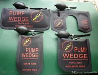 100% Klom Pump Wedge Airbag 2017 Nuovo per Universal Air Wedge Blocksmith Tools Strumenti Blocco Set Set Auto Porta serratura aperta 4pcs