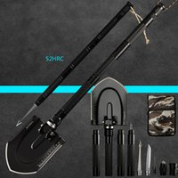 Multi- functional Engineering Shovel Garden Tools Folding Mil...