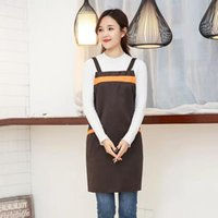 Korean Style Apron Waterproof Aprons H Shape Polyester Fabri...