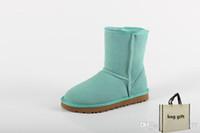 Kış tasarımcı botlar kadın erkek kar WGG moda lüks WGG bottines d'hiver stivali invernali Botaş de mujer stivali donna womens