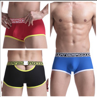 Sexy Men Underwear Boxer Breathable Mesh boxershorts men Mal...