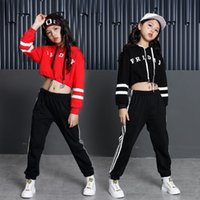 Girls Hip Hop Dance Clothes Hip Hop Ballroom Stage Costumes ...