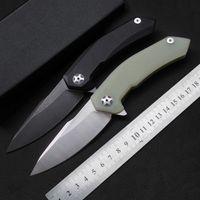 جودة عالية للطي سكين ZT ZT0095 بليد: 440C (وصمة عار / أسود) ، والتعامل مع G10 التخييم سكين صيد السكاكين EDC الأدوات اليدوية التكتيكية بقاء سكين