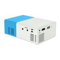 YG300 LED 미니 휴대용 프로젝터 오디오 HDMI USB 미니 YG-300 프로젝터 미디어 플레이어 아동 교육 Projetor