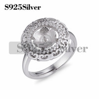 Classical Ring Cabochon Setting Jewelry Findings Semi- finish...