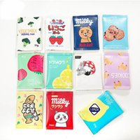 Multiple Styl Candy creativo Snacks Coin Purse Bambini Pu Leather Zipper Change Purse Portafoglio donna titolare Mini Money Bag