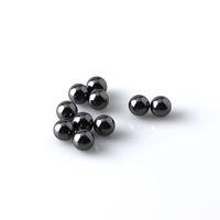 Siliziumkarbid-Kugel SIC Terps Pearls 6mm Black terp perlen Rauchen Zubehör für Quarz Banger Nägel Glas Wasser Bongs DAB Rigs