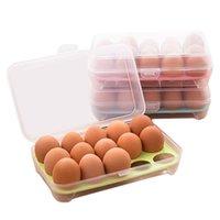 15 яиц держатель кейс для хранения продуктов домашняя кухня простой дешевый многофункциональный контейнер для яиц полезный холодильник ящик для хранения яиц lp0197