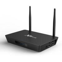 أحدث أندرويد 7.1 التحكم الصوتي مربع التلفزيون X96 رابط Amlogic S905W رباعية النواة 2G / 16G H.265 2.4 جرام / 5GWIFI مربع الذكية YXT