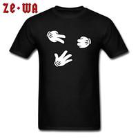 BW 티셔츠 남성 면직 티셔츠 가위 바위 가위 게임 탑스 단순하지만 재미있는 티셔츠 맞춤 녀석 Tshirt 블랙 Streetwear 만화