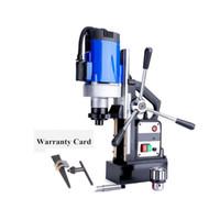 Drill magnetico elettrico 1500W Trapano magnetico elettrico Elettro-Mag Chuck Potenza regolabile e pulito potente e pulito perforatrice ultra-port
